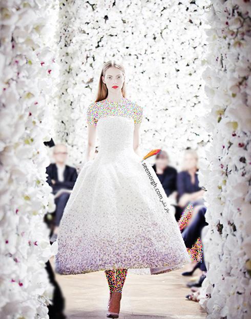 برترین مدل های لباس عروس کریستین دیور Christian Dior در دنیای مد - عکس شماره 7