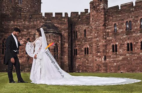 مراسم عروسی سیارا Ciara و راسل ویلسون Russell Wilson - عکس شماره 6