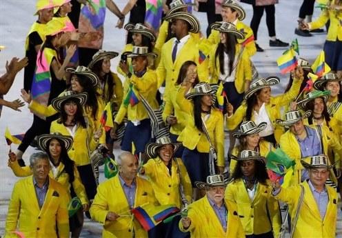 لباس کلمبیا در المپیک ریو 2016