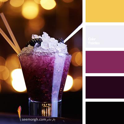 بهترین رنگ ها برای ست کردن با مبلمان زرشکی - پالت رنگی شماره 5