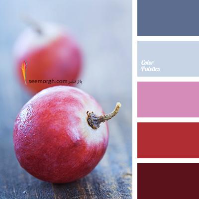 بهترین رنگ ها برای ست کردن با مبلمان زرشکی - پالت رنگی شماره 2