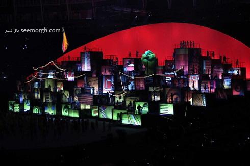 مراسم افتتاحیه المپیک 2016(9)