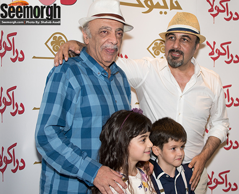 رضا عطاران در کنار عباس محبوب