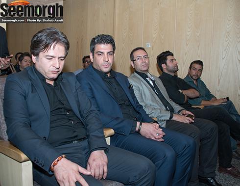 امیر تاجیک در مراسم هفتم حبیب