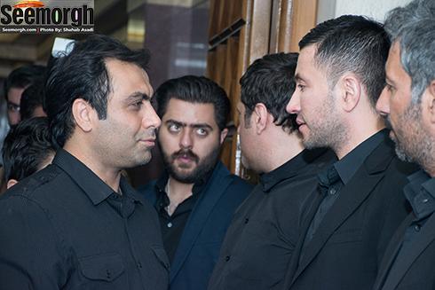 سعید شهروز در کنار محمد محبیان
