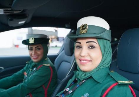چهره زنان پلیس در دوبی