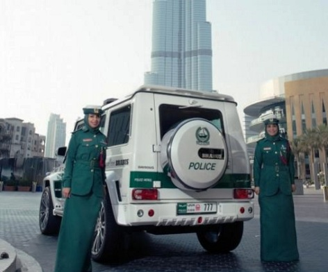 ظاهر زنان پلیس دوبی 1