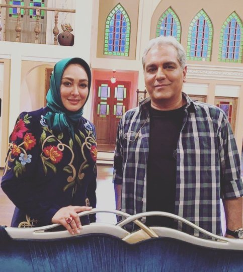 عکس یادگای الهام حمیدی و مهران مدیری