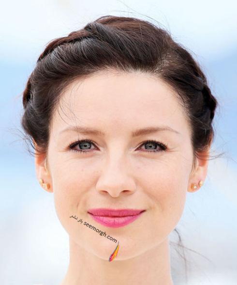آرایش کاتریونا بالف Caitriona Balf در جشنواره کن 2016 Cannes