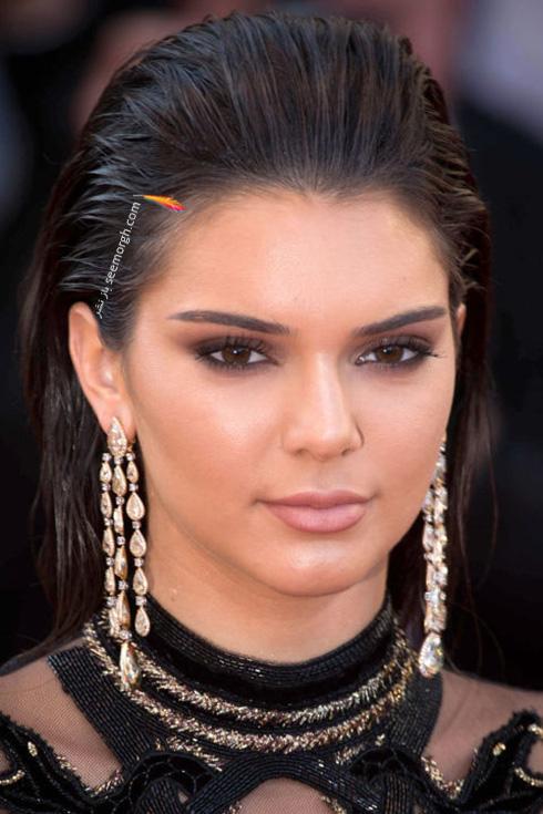 آرایش کندال جنر Kendall Jenner در جشنواره کن 2016 Cannes