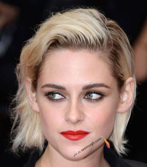 آرایش کریستین استوارت kristen Stewart در جشنواره کن 2016 Cannes
