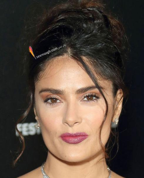 آرایش سلما هایک salma Hayek در جشنواره کن 2016 Cannes