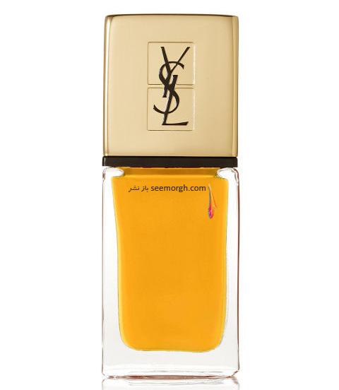 لاک ناخن برند Yves Saint Laurent برای پاییز 2016 - خردلی روشن