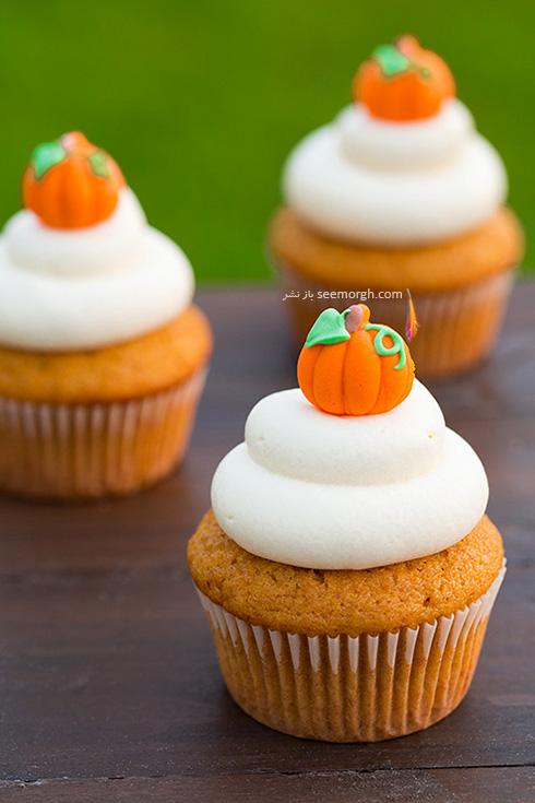 تزیین کاپ کیک برای پاییز - تزیین شماره 5