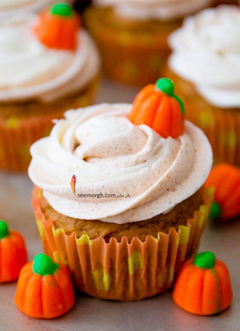 تزیین کاپ کیک برای پاییز - تزیین شماره 6