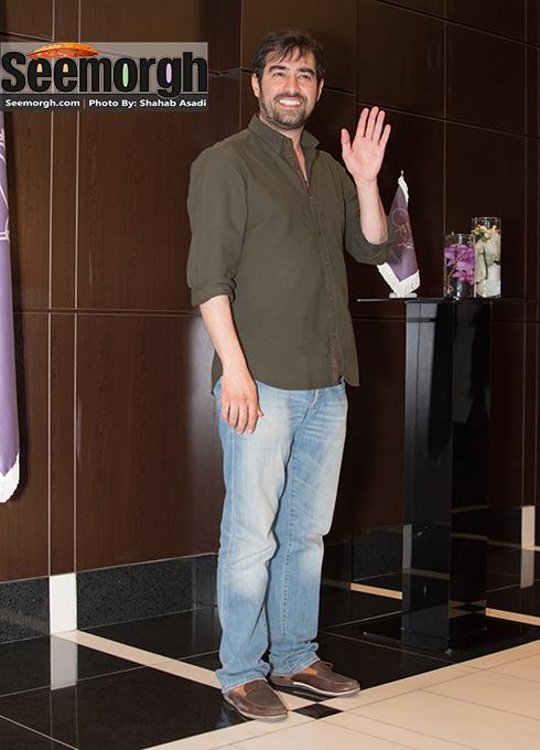 چهره خندان شهاب حسینی