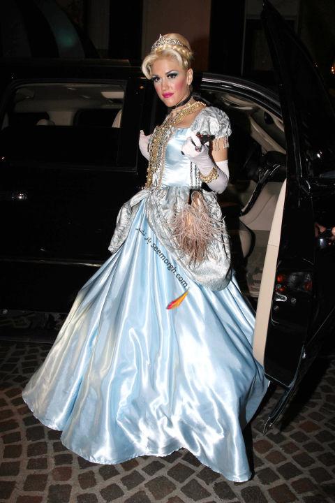مدل لباس گوئن استفانی Gwen Stefani در جشن هالووین 2011