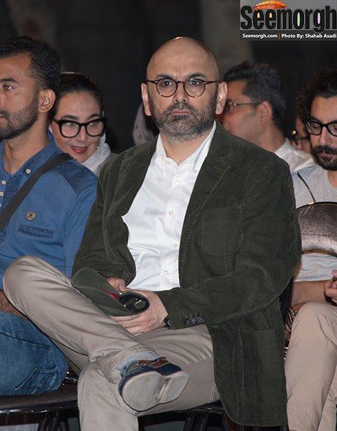مدل لباس حبیب رضایی در جشن خانه سینما