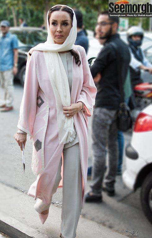 مدل لباس حدیث فولادوند در جشن حافظ