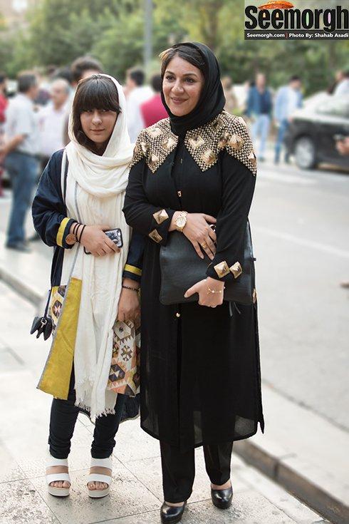 مدل لباس ستاره اسکندری در جشن حافظ