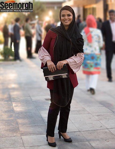 مدل لباس شبنم فرشادجو در جشن حافظ