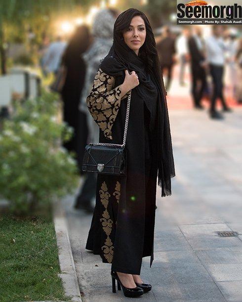 مدل لباس لیلا اوتادی در جشن حافظ