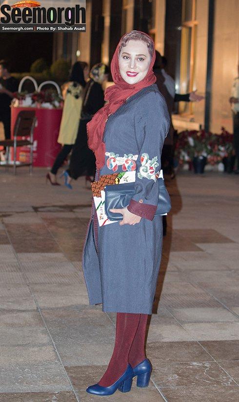 مدل لباس آرام جعفری در جشن حافظ