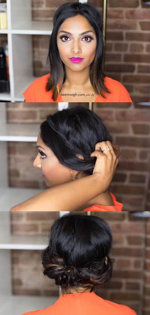 مدل مو چند دقیقه ای - مدل شماره 3