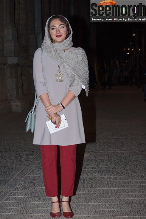 مدل لباس هانیه توسلی در جشن خانه سینما
