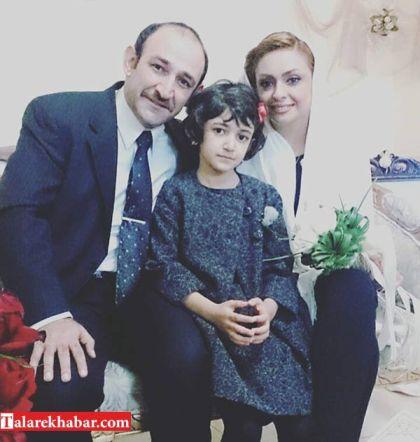 مراسم ازدواج هدایت هاشمی و مهشید ناصری
