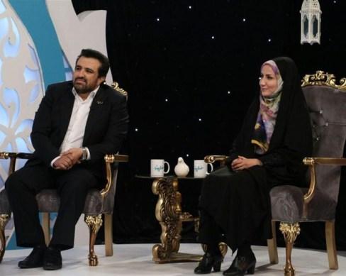 حسینی بای و همسرش