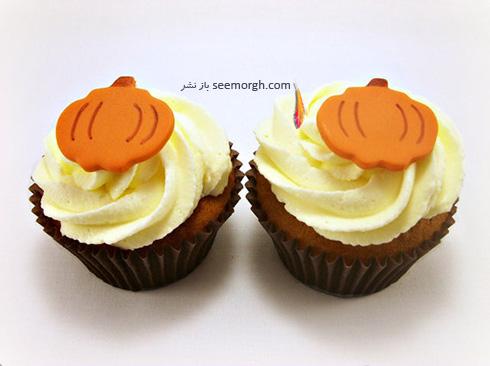 تزیین کاپ کیک برای پاییز - تزیین شماره 8