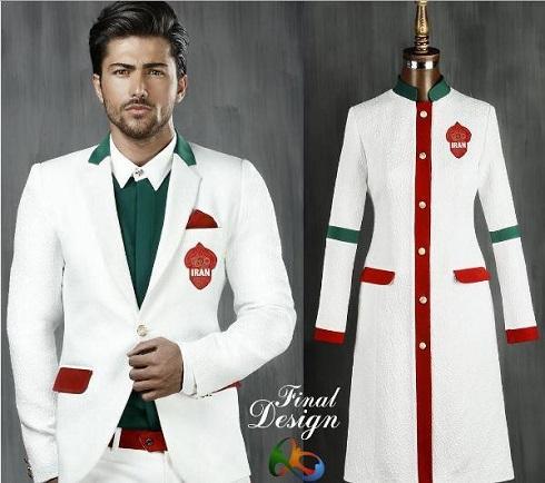 عکس لباس کاروان ایران در المپیک 2016
