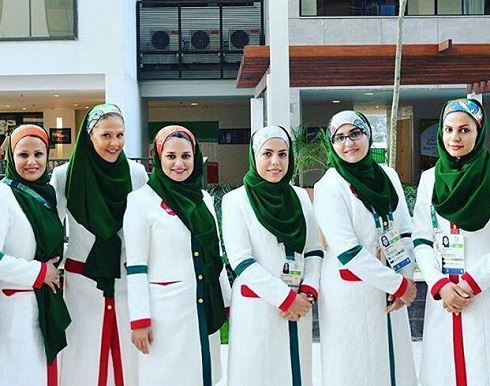 دختران المپیکی ایران