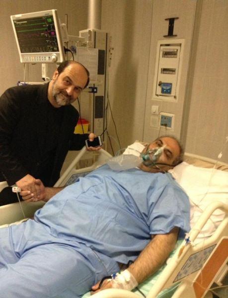 عکس عمل جراحی جواد خیابانی