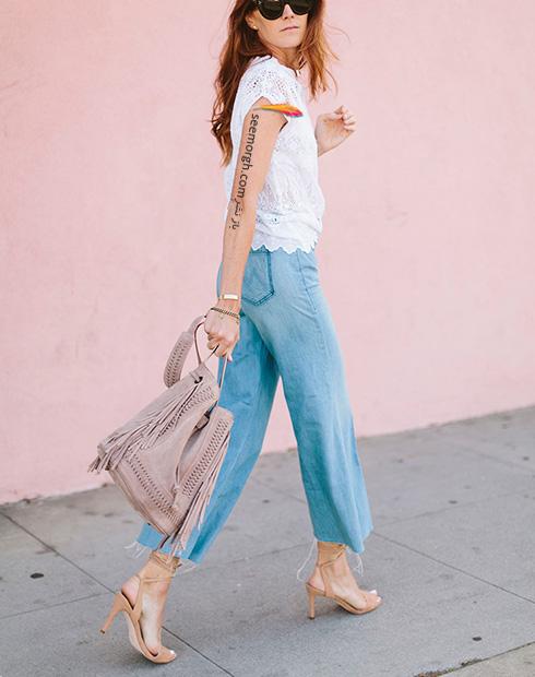 ست کردن مدل های مختلف شلوار جین با کفش - عکس شماره 8