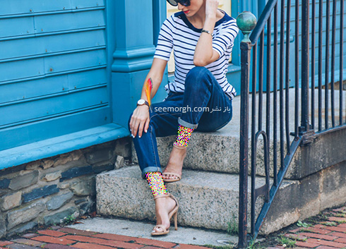 ست کردن مدل های مختلف شلوار جین با کفش - عکس شماره 11