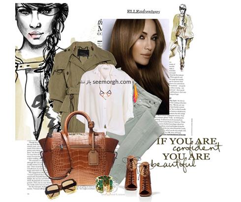 ست کردن لباس پاییزی به سبک جنیفر لوپز Jennifer Lopez - عکس شماره 2