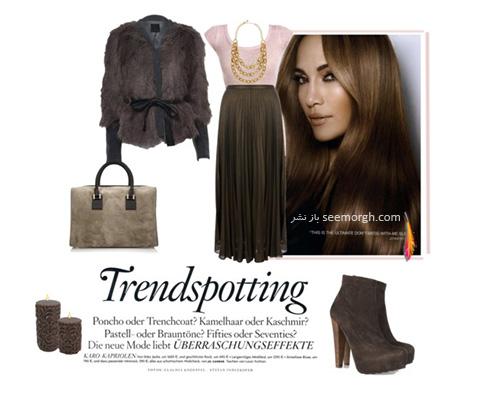 ست کردن لباس پاییزی به سبک جنیفر لوپز Jennifer Lopez - عکس شماره 3