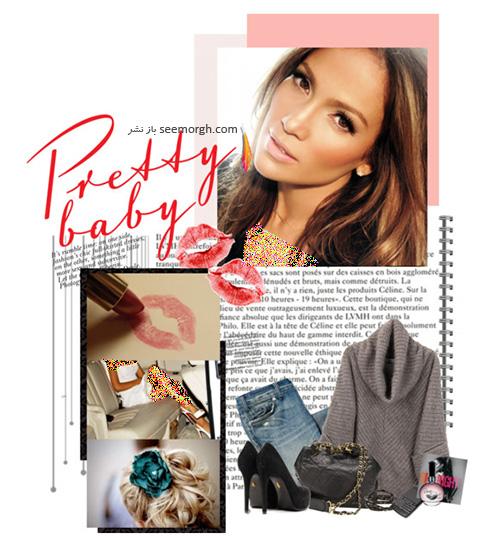 ست کردن لباس پاییزی به سبک جنیفر لوپز Jennifer Lopez - عکس شماره 4