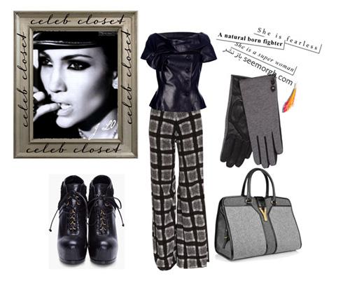 ست کردن لباس پاییزی به سبک جنیفر لوپز Jennifer Lopez - عکس شماره 5