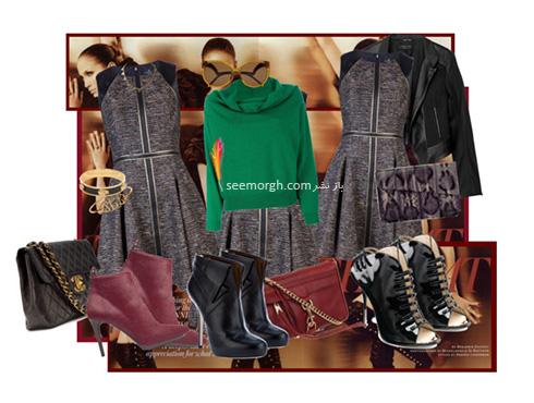 ست کردن لباس پاییزی به سبک جنیفر لوپز Jennifer Lopez - عکس شماره 7