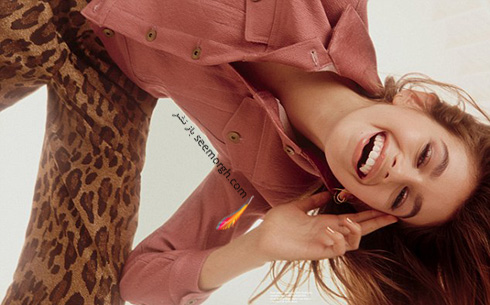 کایا برگر Kaia gerber سوپر مدل 14 ساله روی مجله پاپ Pop - عکس شماره 7