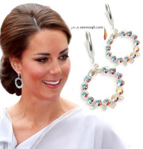 مدل گوشواره کیت میدلتون Kate Middleton - عکس شماره 3