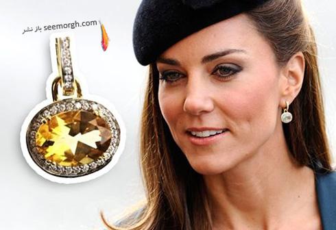 مدل گوشواره کیت میدلتون Kate Middleton - عکس شماره 5