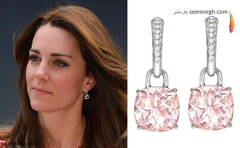 مدل گوشواره کیت میدلتون Kate Middleton - عکس شماره 6
