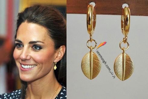 مدل گوشواره کیت میدلتون Kate Middleton - عکس شماره 7