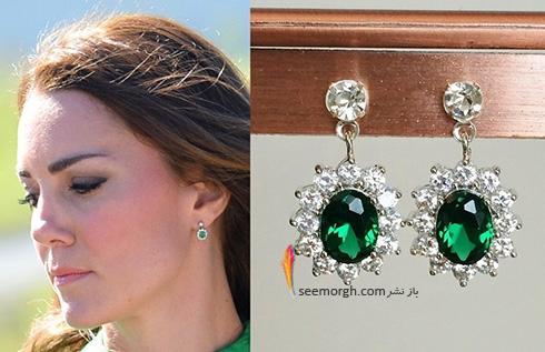 مدل گوشواره کیت میدلتون Kate Middleton - عکس شماره 8