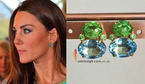 مدل گوشواره کیت میدلتون Kate Middleton - عکس شماره 11