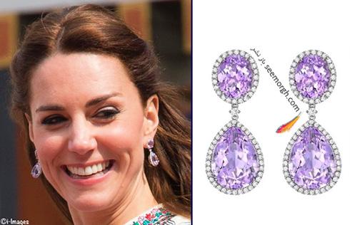 مدل گوشواره کیت میدلتون Kate Middleton - عکس شماره 12